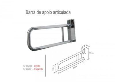 Barra de Apoio Articulada – em Aço Inox