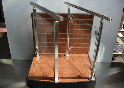 Corrimão de Aço Inox – Coluna Quadrada